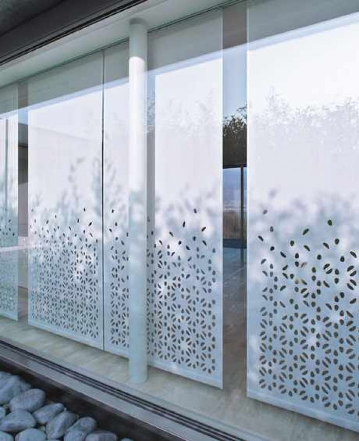 Creation Baumann vertical roller blind