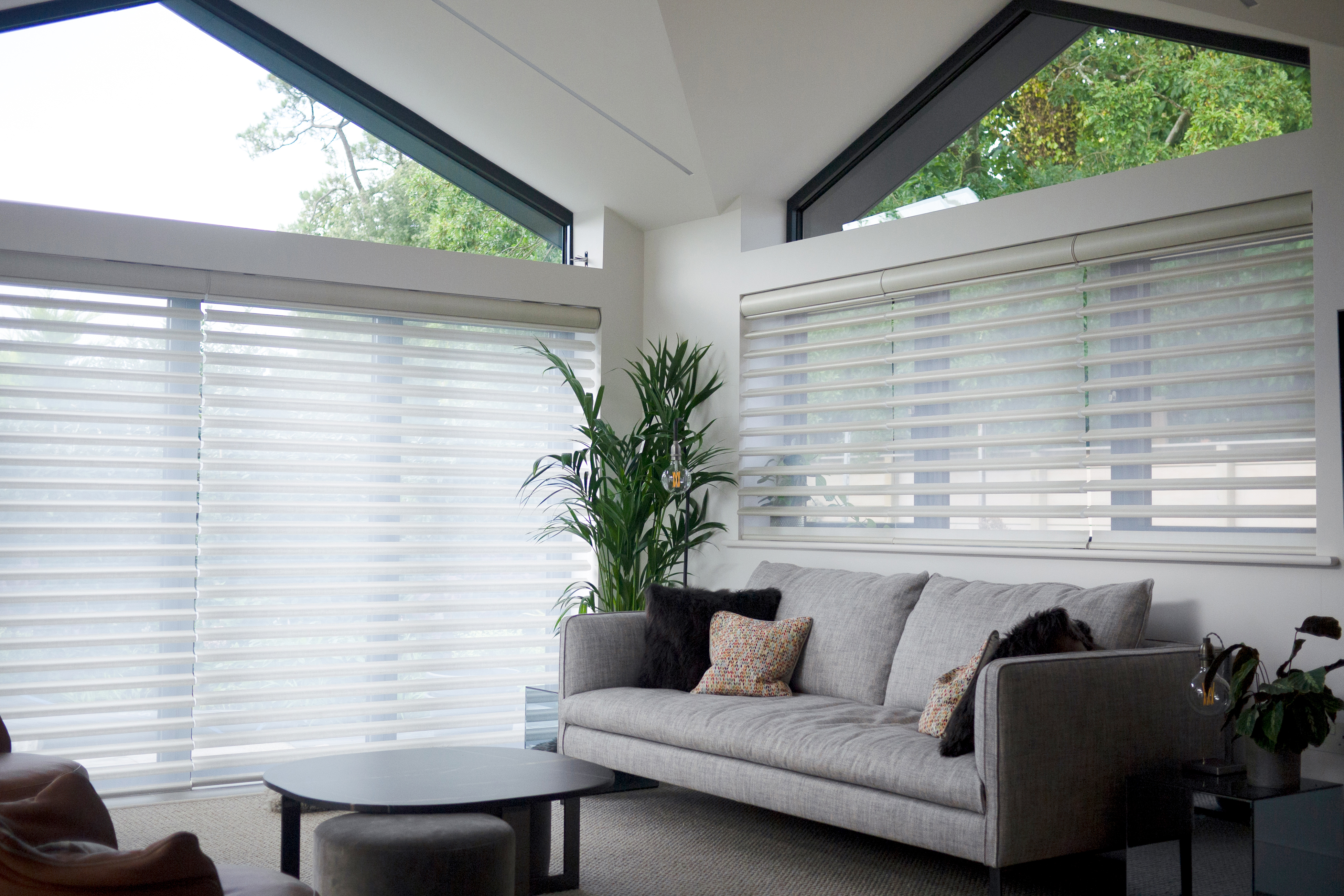 Residential Homes - Automated Curtains & Blinds