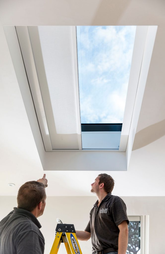 SHY electrical roof skylight