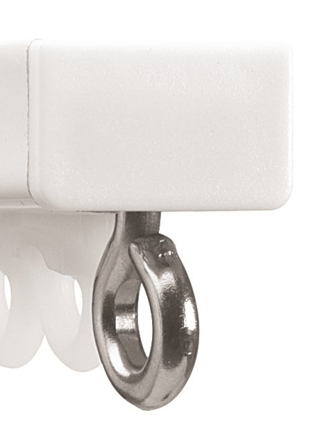 Silent Gliss 1070 Curtain Track - White
