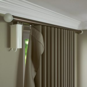 Silent Gliss 6150M Metropole Motorised Curtain Pole System