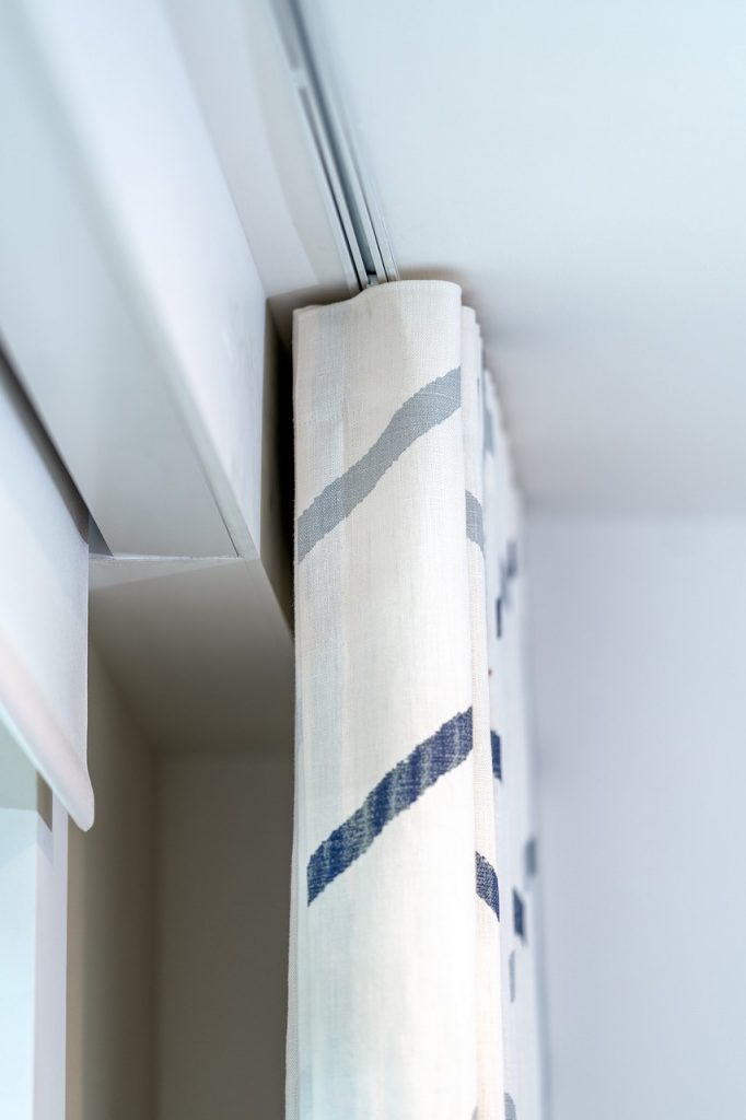 Silent Gliss electric roller blinds